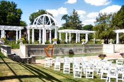 Lakeside Rose Garden Fort Wayne Wedding Harpist