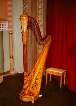 Northwest Indiana Wedding Music Memorial Opera House Harpist