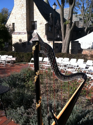 Bloomington Harpist for Weddings at Ewing Manor