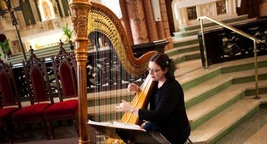 Chicago Catholic Wedding Ceremony Music Harpist