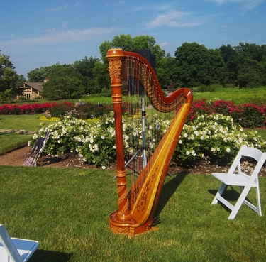 West Chicago Harpist - Cantigny Park Wedding
