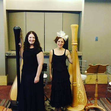 Chicago Harp Duo for Hire - Cocktail Hour Music