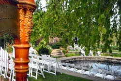Chicago Botanic Gardens Wedding Music Harp