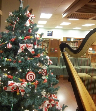 Christmas Harp Music Concert in Indiana