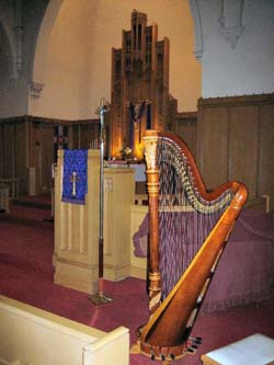 Lutheran Wedding Music Chicago Harpist