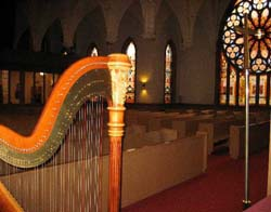 Lutheran Harpist Chicago Wedding Musician
