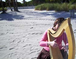 Miami Beach Wedding Harpist