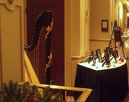 Goshen Indiana Wedding Harpist