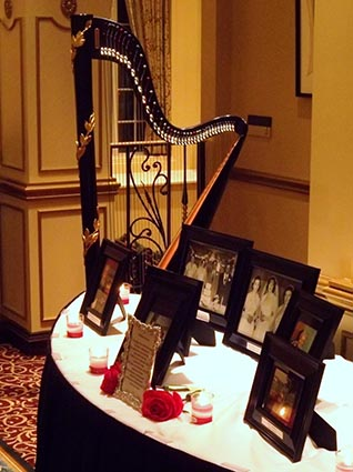 Elkhart Indiana Harpist for Weddings