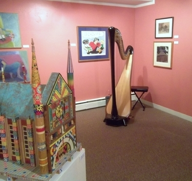 Harp Music for a Holiday Party in Elkhart, Indiana