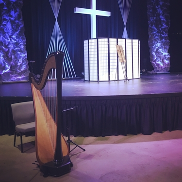 Fort Wayne Wedding Harpist