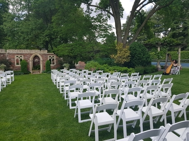 Wedding at Hamstra's Garden