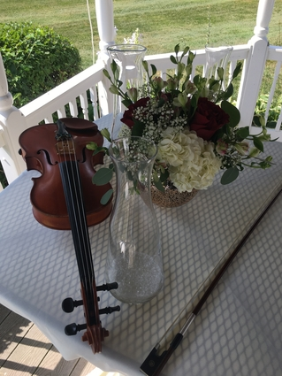 Quad Cities Harp and Violin Wedding Duet