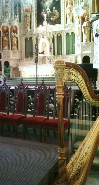 Catholic Wedding Music Chicago Harpist