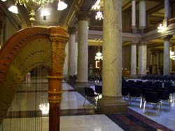 Indiana Statehouse Wedding Music Harpist Indy