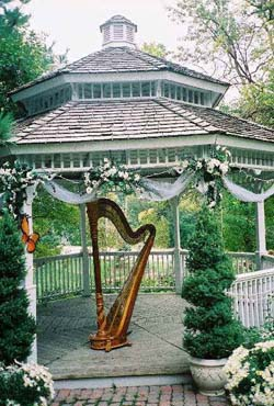 Valparaiso Harpist Wedding Inn at Aberdeen