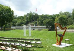 Freeport Illinois Wedding Ceremony Harpist