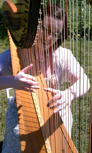 Harp Music on Mackinac Island