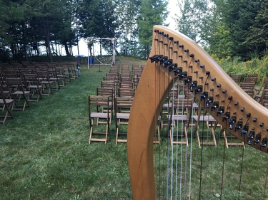 Upper Peninsula Harpist for Weddings