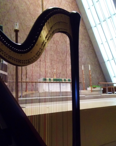 Fort Wayne Wedding Harpist - Kramer Chapel Ceremony
