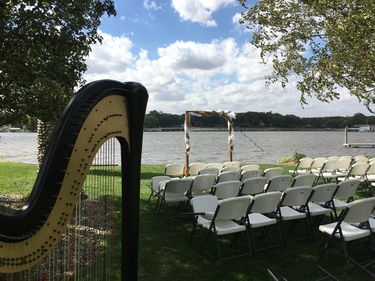 Northern Indiana Harpist for Weddings