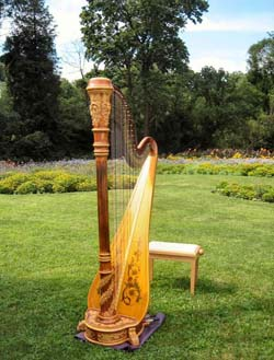 Joliet Harpist for Weddings at Pilcher Park