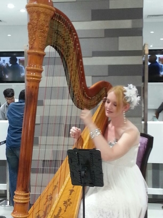 Pune International Harpist for Events