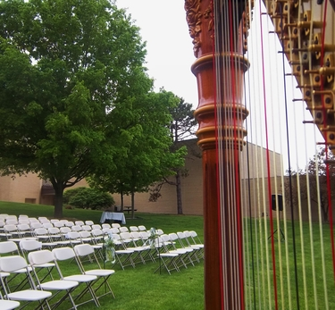 Harpist for Southwest Michigan Outdoor Weddings