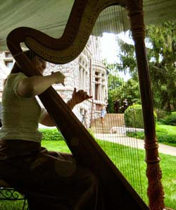 Tippecanoe Place Harpist for Weddings in South Bend