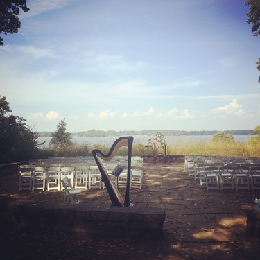 Hillsdale Michigan Wedding Harpist