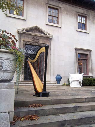 Frankfort Kentucky Wedding Harpist