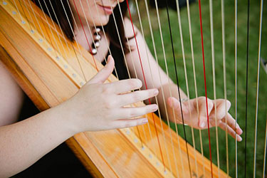 Southwest Iowa Wedding Harpist