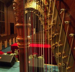 Mattoon Illinois harp music