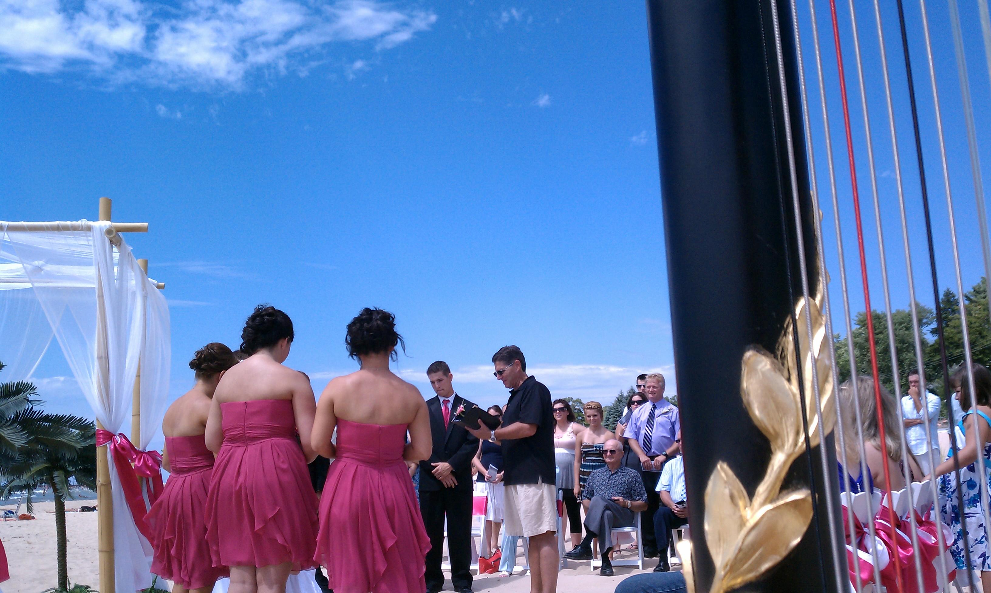 Grand Haven Wedding Harpist