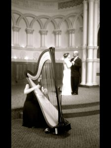 Peoria IL Wedding Harpist
