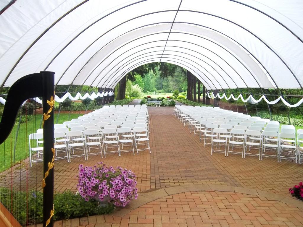 Michigan City Wedding Musician International Friendship Gardens The Classic Harpist