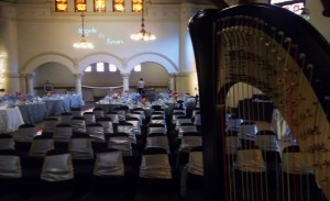 Peoria Harpist Wedding at Cornerstone