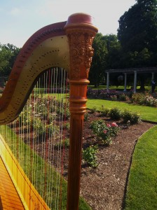 West Chicago Harpist Cantigny Park Wedding Music