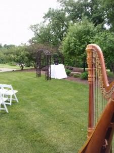 Northern IL Wedding Harpist