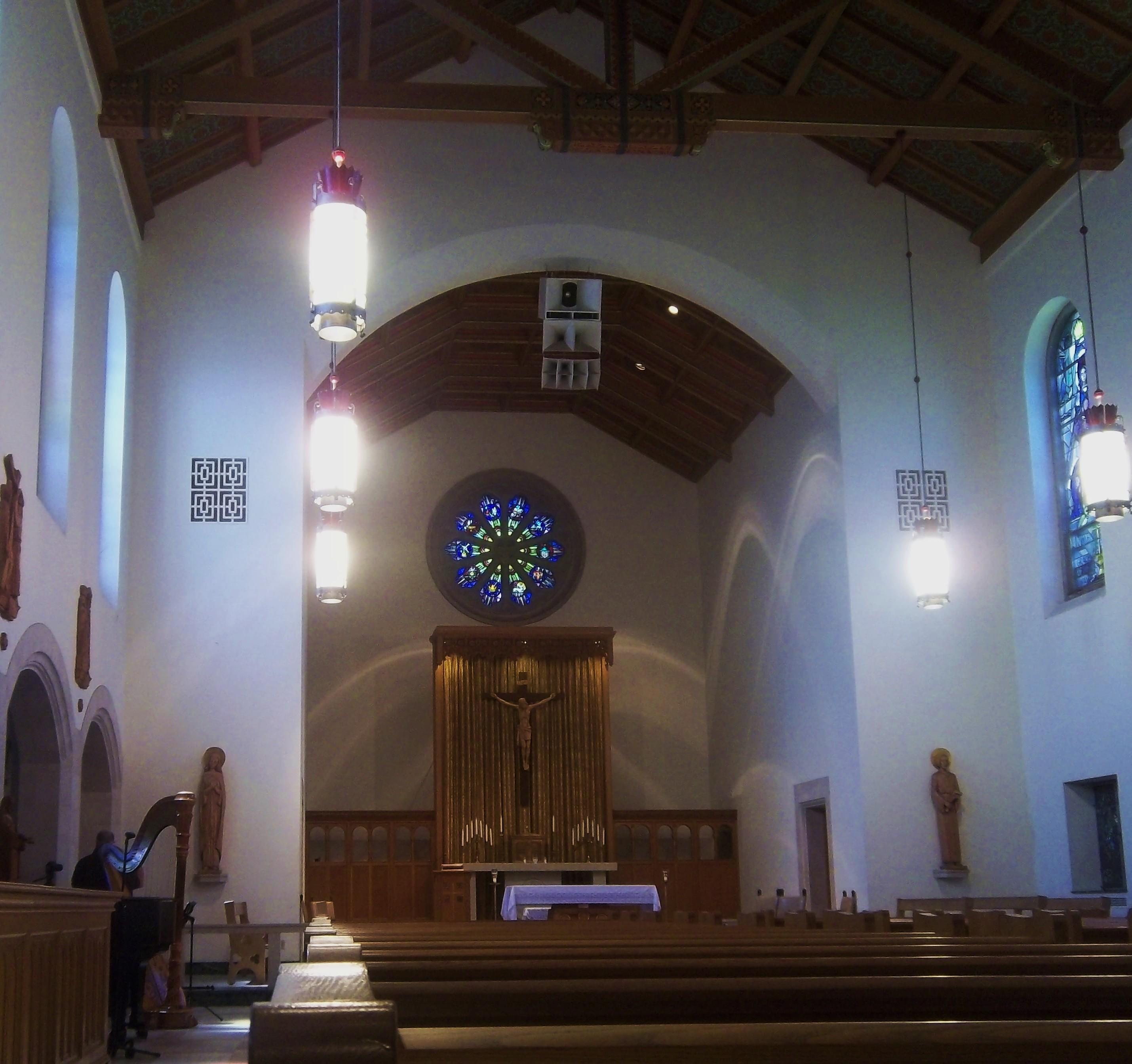 Bloomfield Hills Harpist Academy Sacred Heart Wedding