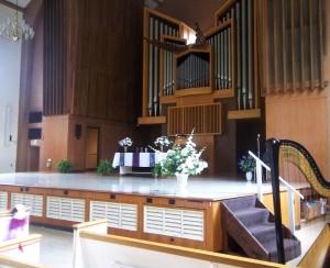 Wedding at Rammelkamp Chapel Illinois College