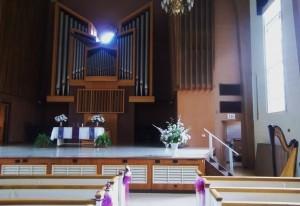 Jacksonville Wedding Music in Rammelkamp Chapel