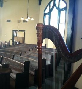 Northern Illinois Harpist