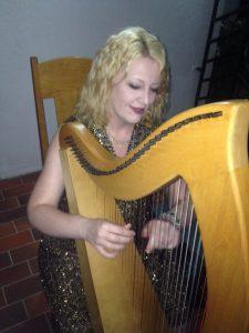Abuja Nigeria Harpist