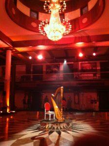Delhi international harpist
