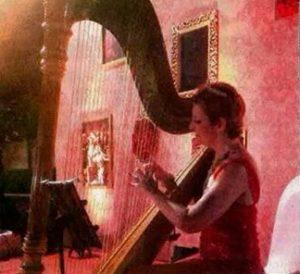 Mumbai Wedding Harpist