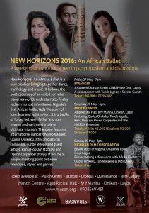 New Horizons African Ballet