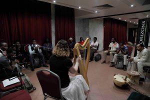 Lagos Nigeria Harpist