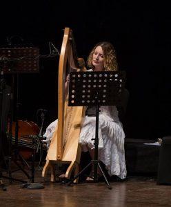Harpist in Nigeria