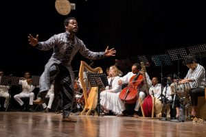 African Ballet with Harp